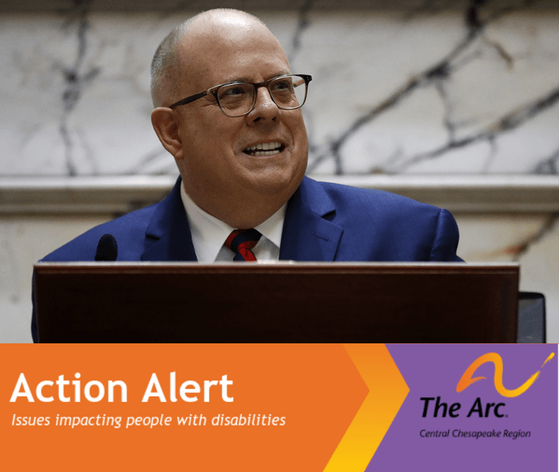 Action Alert: Contact Governor Hogan by December 2, 2019